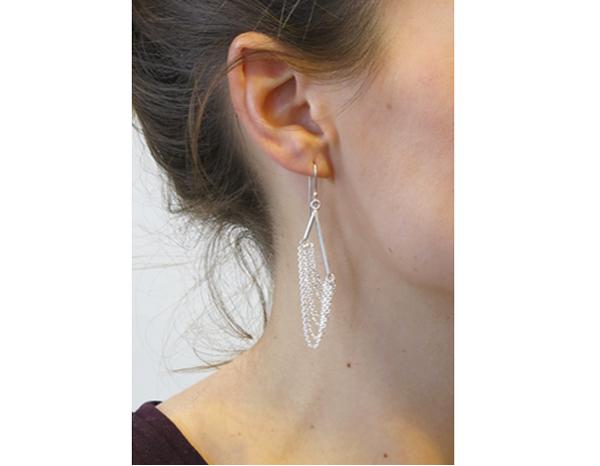 boucle d'oreille long