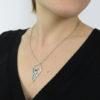 Collier Amulette porté