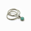bague fine mobile amazonite