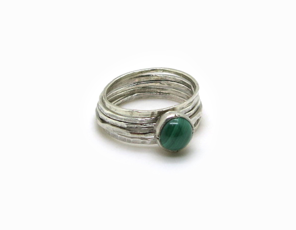 bague en malachite