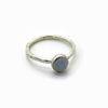 bague pierre agate bleue – Copie