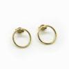 boucles d'oreilles cercles d'or